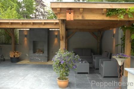 Overkapping In Tuin : Bouwen overkapping tuin werkspot