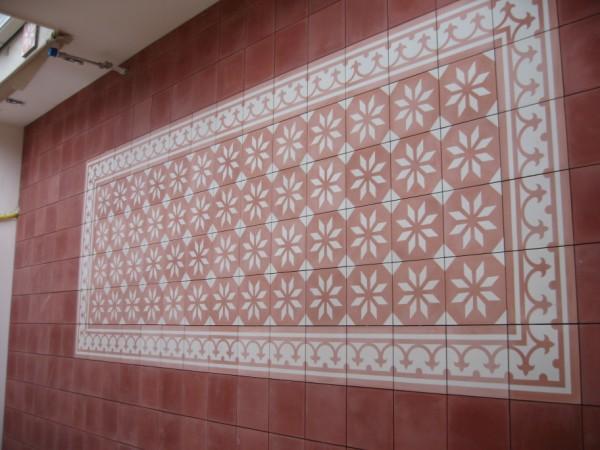 Portugese Tegels Keukenvloer : Tegelen keukenvloer en patio met portugese vloertegels werkspot
