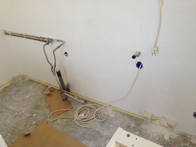 Waterleiding verleggen, gas weghalen, afvoer vernieuwen  Werkspot # Wasbak Frezen_120636