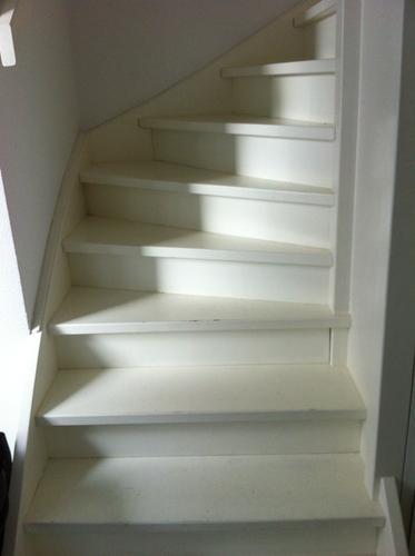 Favoriete Dichte en open trap bekleden met Flexx floors - Werkspot YH57
