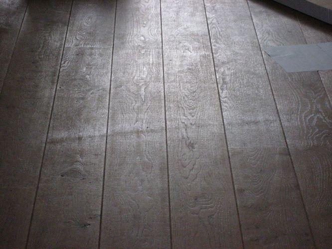 Kras repareren in geoliede eiken vloer werkspot