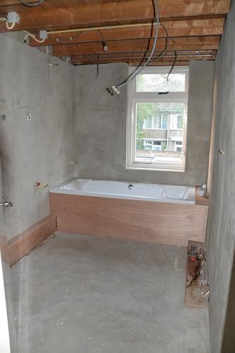 Verbouwing badkamer + verplaatsen CV - Werkspot
