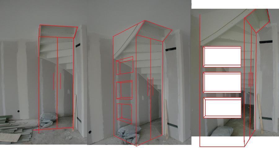 Trap aftimmeren en trapkast plaatsen - Werkspot