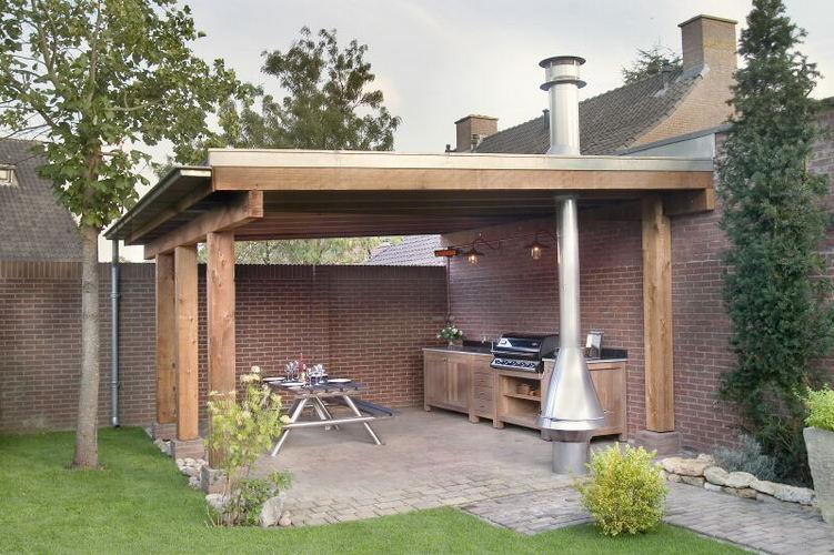 Gedeelte garage tot veranda ombouwen werkspot for Garage con veranda