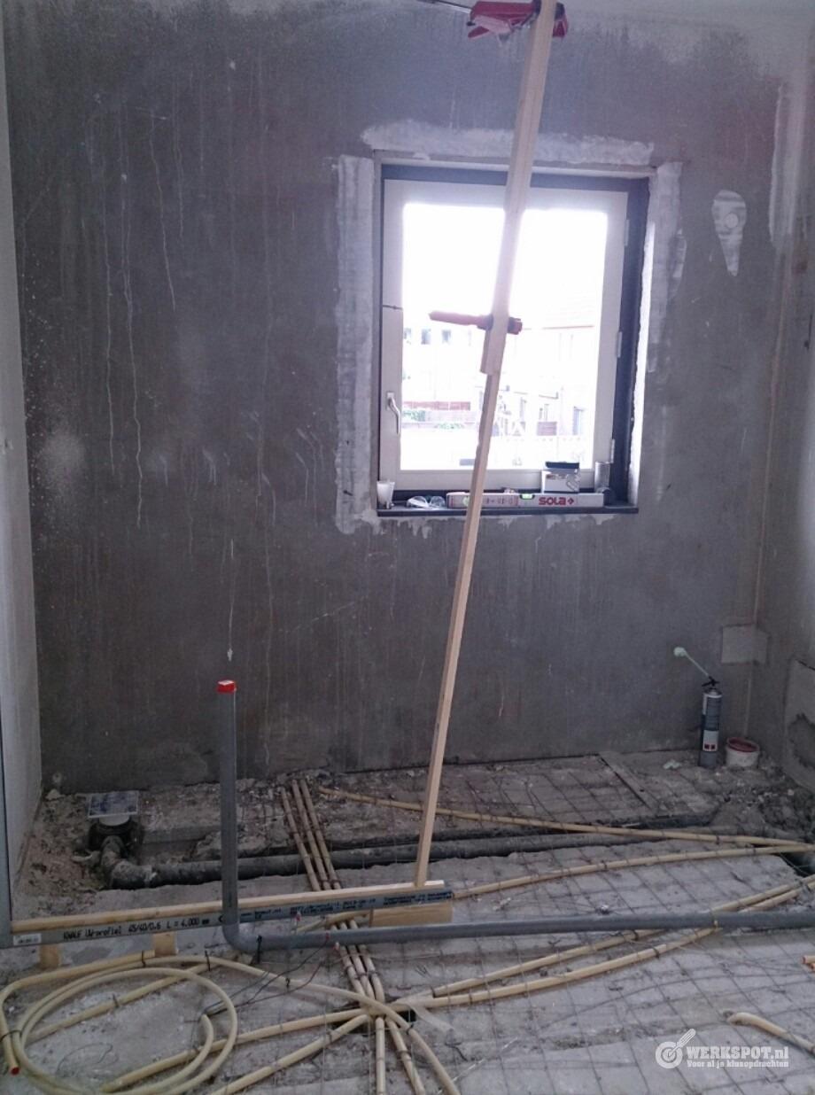 badkamer in nieuwbouw woning plaatsen werkspot