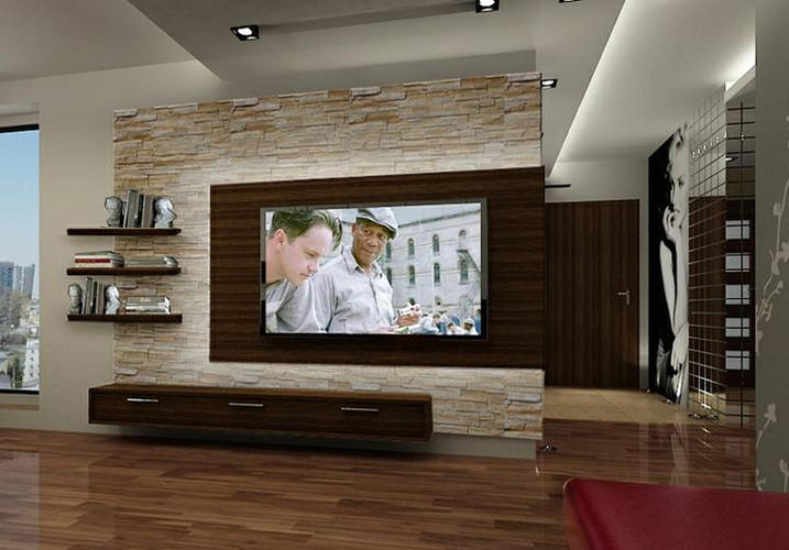 Tv Meubel Met Achterwand.Tv Achterwand Zelf Maken Ooh01 Agneswamu