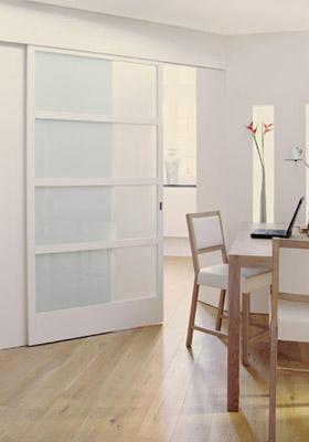 Het maken van een houten schuifdeur als afscheiding tussen woonkame werkspot - Afscheiding glas keuken woonkamer ...
