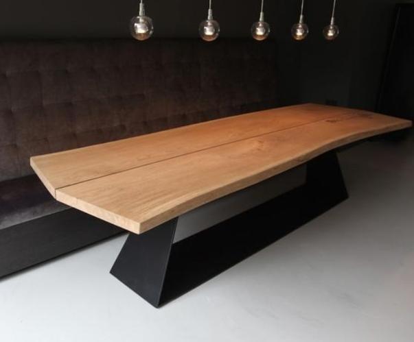 Tafel Onderstel Maken : Metalen tafel onderstel maken werkspot
