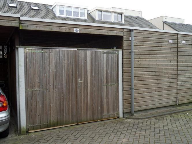 Carport deur