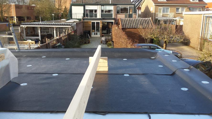 Uitzonderlijk Bitumen dakbedekking aanbrengen op platdak 5,40 x 5,40 meter QT99