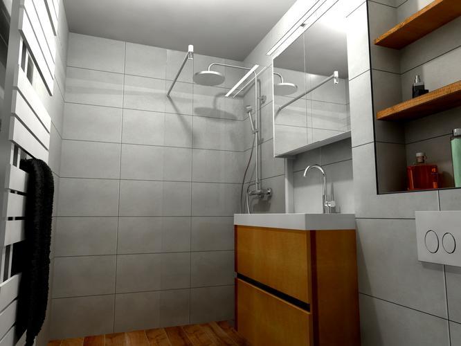 Badkamer Douche Plaatsen : Plaatsen complete badkamer douche toilet meubel tegels
