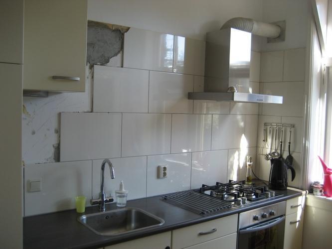 Venieuwen wandtegels keuken werkspot - Muur tegel installatie ...