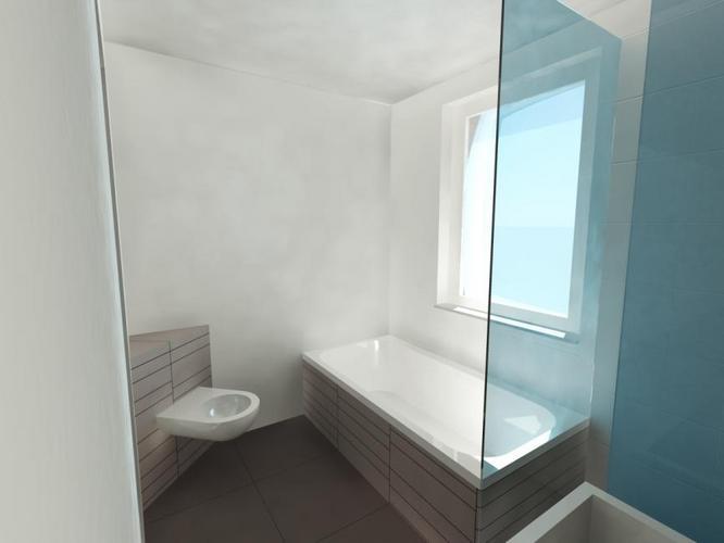 Het betegelen van de badkamer en wc werkspot