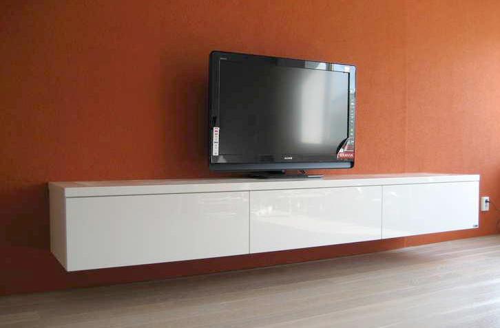 Tv Kast Zwevend : Zwevend tv meubel werkspot