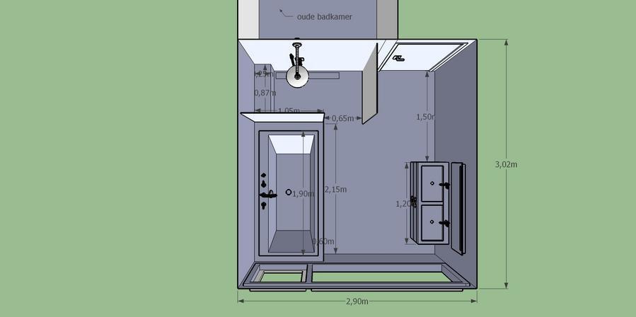 watertoe- en afvoer badkamer aanleggen - werkspot, Badkamer