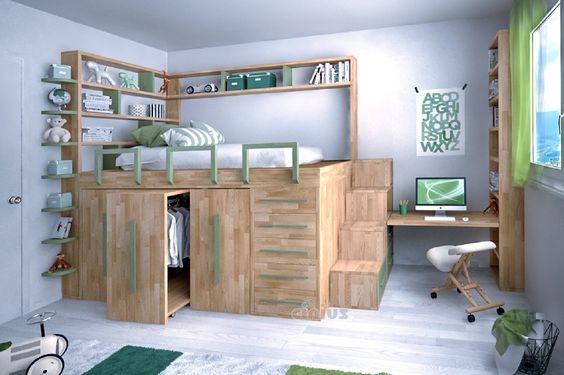 Hoogslaper Met Kastruimte : Half hoogslapers jorg`s houten meubelen