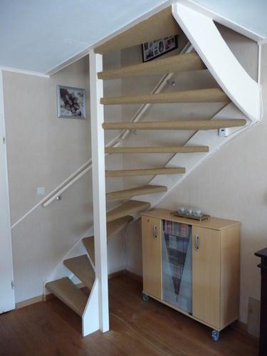Extreem Open trap dicht maken + kast onder de trap maken - Werkspot @QR87