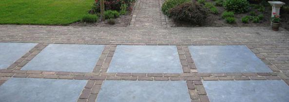 Bestraten oprit en terras nieuwbouw woning werkspot - Voorbeeld van terras ...