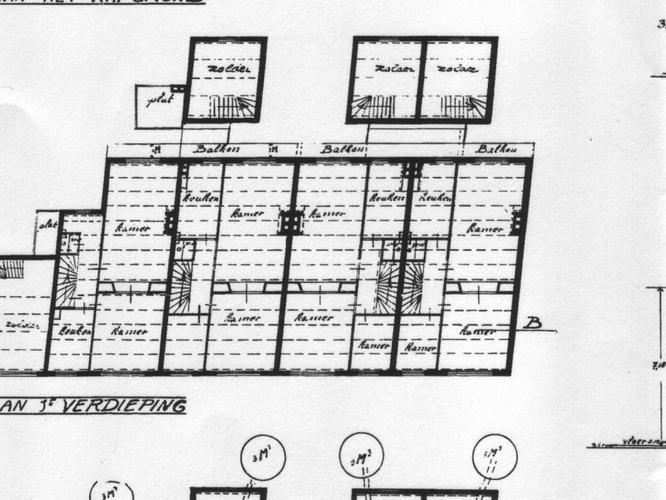 Uitzonderlijk Berekening en bouwtekening slopen draagmuur en trap - Werkspot LN06
