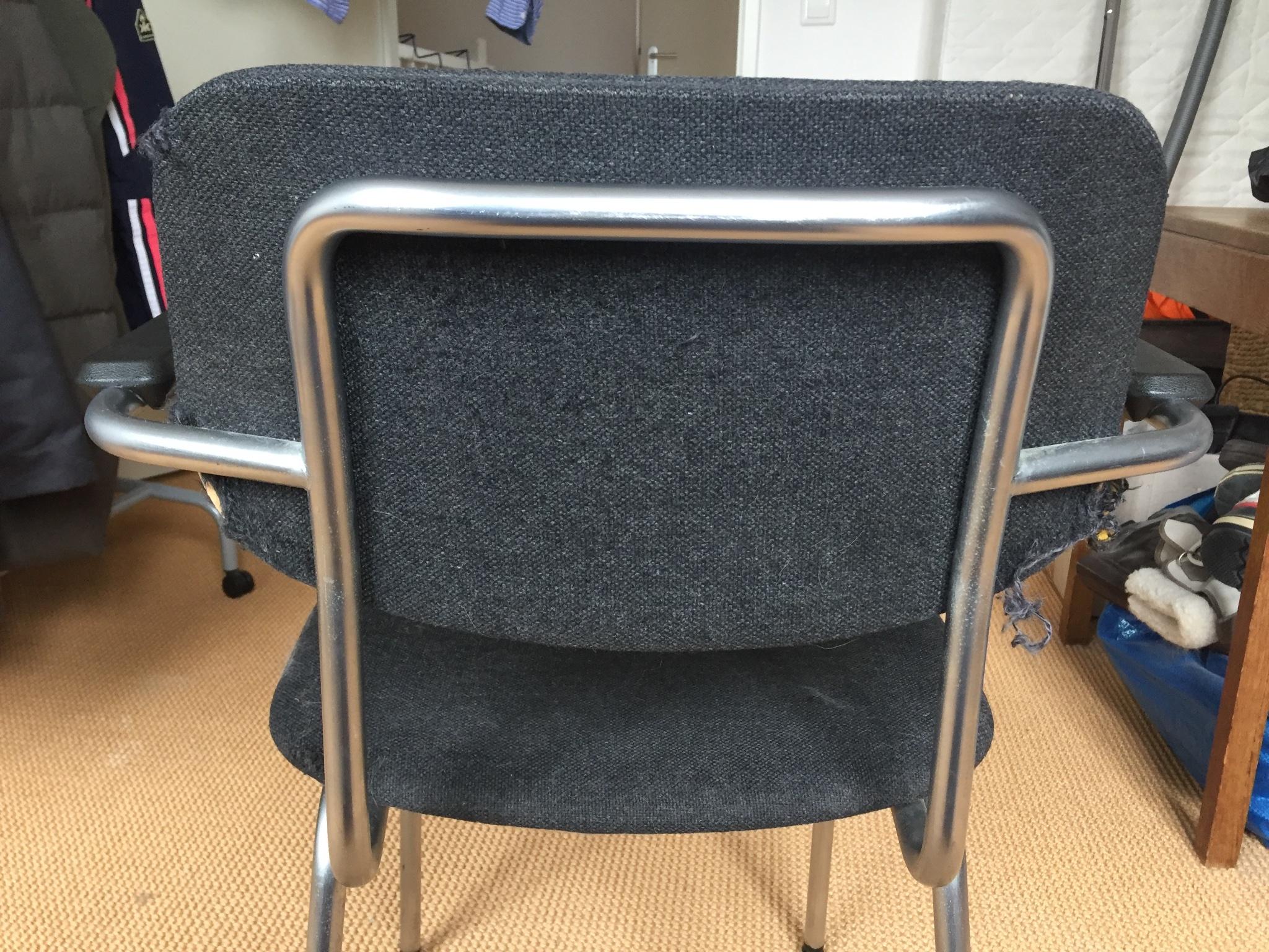 Bureaustoel Zelf Bekleden.Bureaustoel Bekleden Werkspot