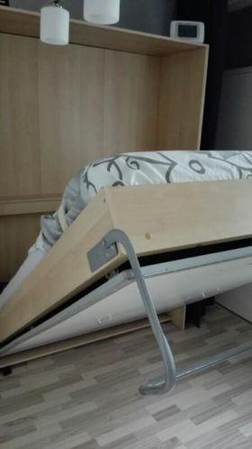 Opklapbed Verwerkt In Kast.Kastenwand Met Bedkast En Losse Kasten Werkspot
