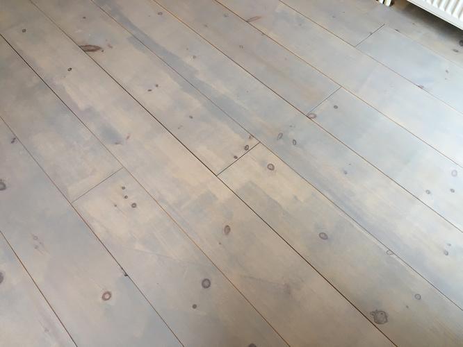 Grenen vloer kleuren en lakken onderhoud van parket