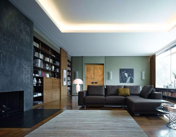 Verlaagd plafond en stuc + LED-verlichting - Werkspot