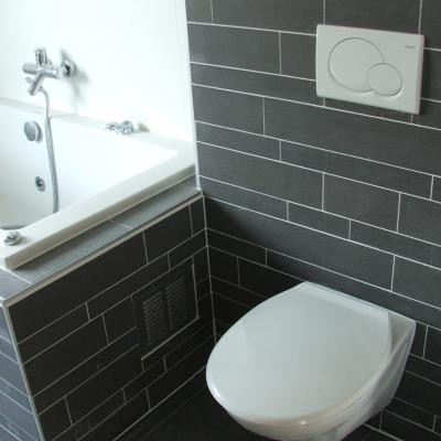Badkamer+toilet+hal opnieuw betegelen - Werkspot