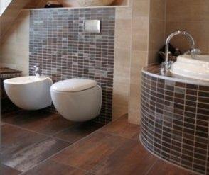 Badkamer en toilet nieuwbouwwoning werkspot - Wc mozaiek ...