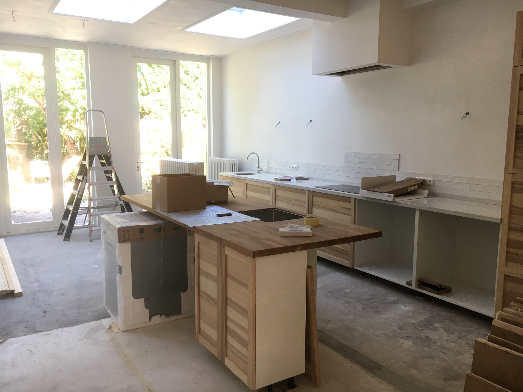 Keuken Verven Ikea : Keuken ikea torhamn schilderen werkspot