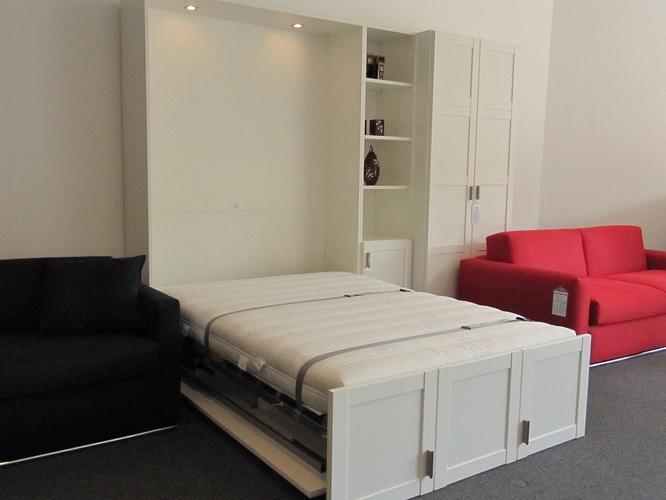 bedkast  inklapbaar bed  voor matras van 1 40x2 00
