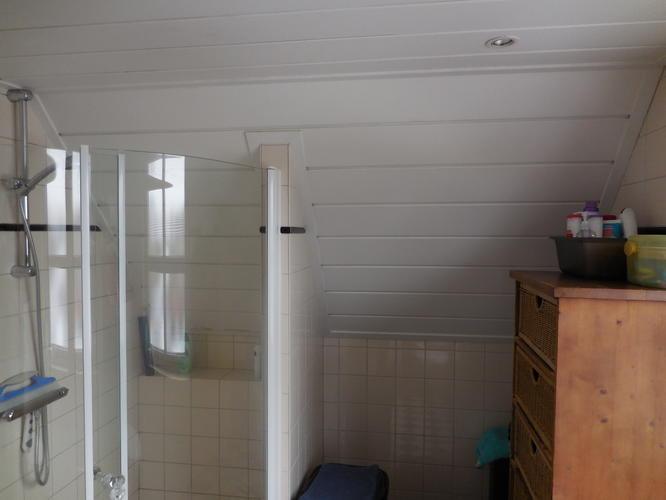 Laminaat Plafond Badkamer : Plafond in badkamer vervangen en vloer overloop egaliseren en lamin