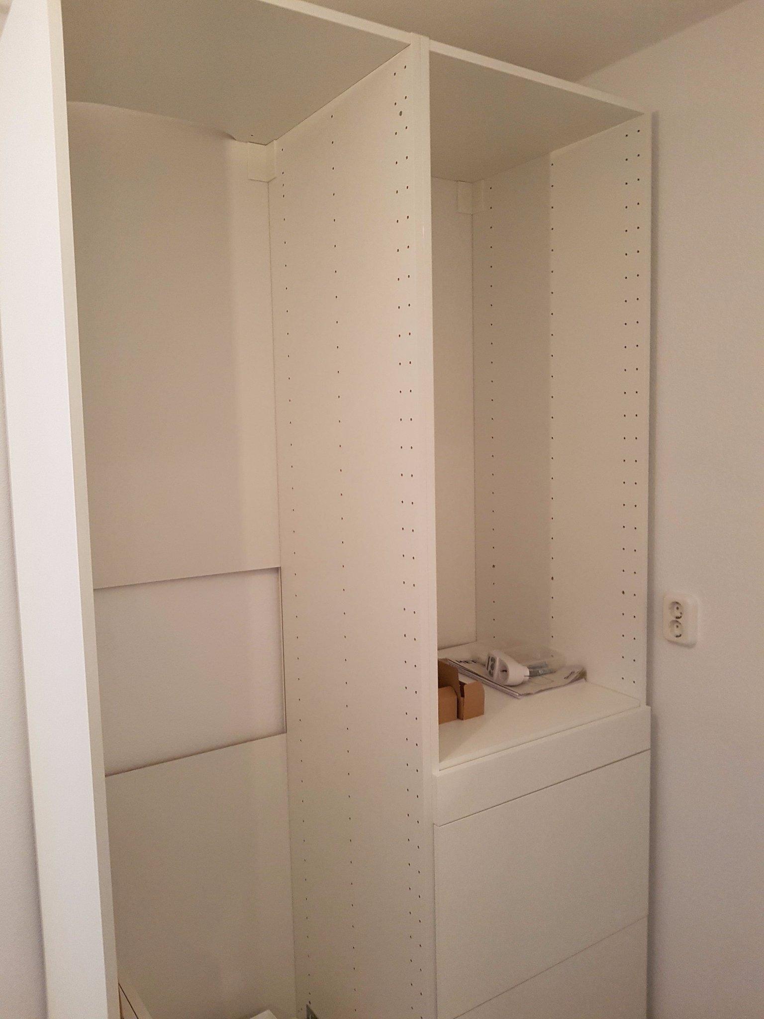 Plaatsenmonteren Van 2 Ikea Metod Kasten Inclusief