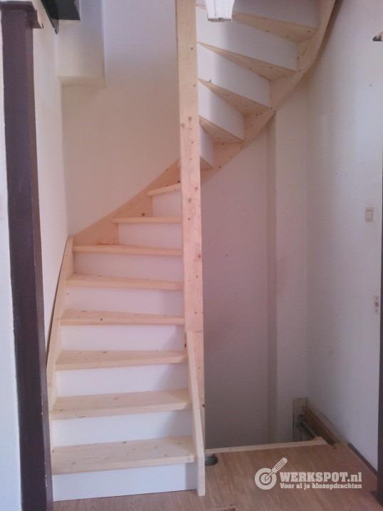 Spiltrappen vervangen door vaste dichte trappen werkspot for Vlizotrap inbouwen