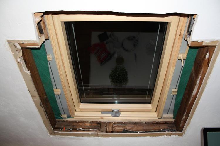 Raamkozijn maken binnekant werkspot for Zelf zoldertrap maken
