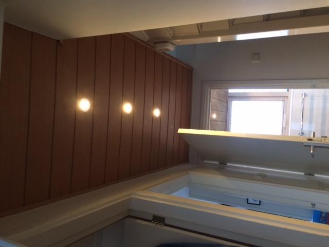Schrootjesplafond in badkamer vervangen door gestuct gipsplaat incl ...