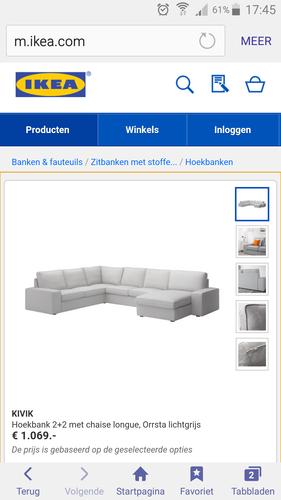 Ikea Kivik Hoekbank.Montage Ikea Kivik Hoekbank Met Chaise Longue Werkspot