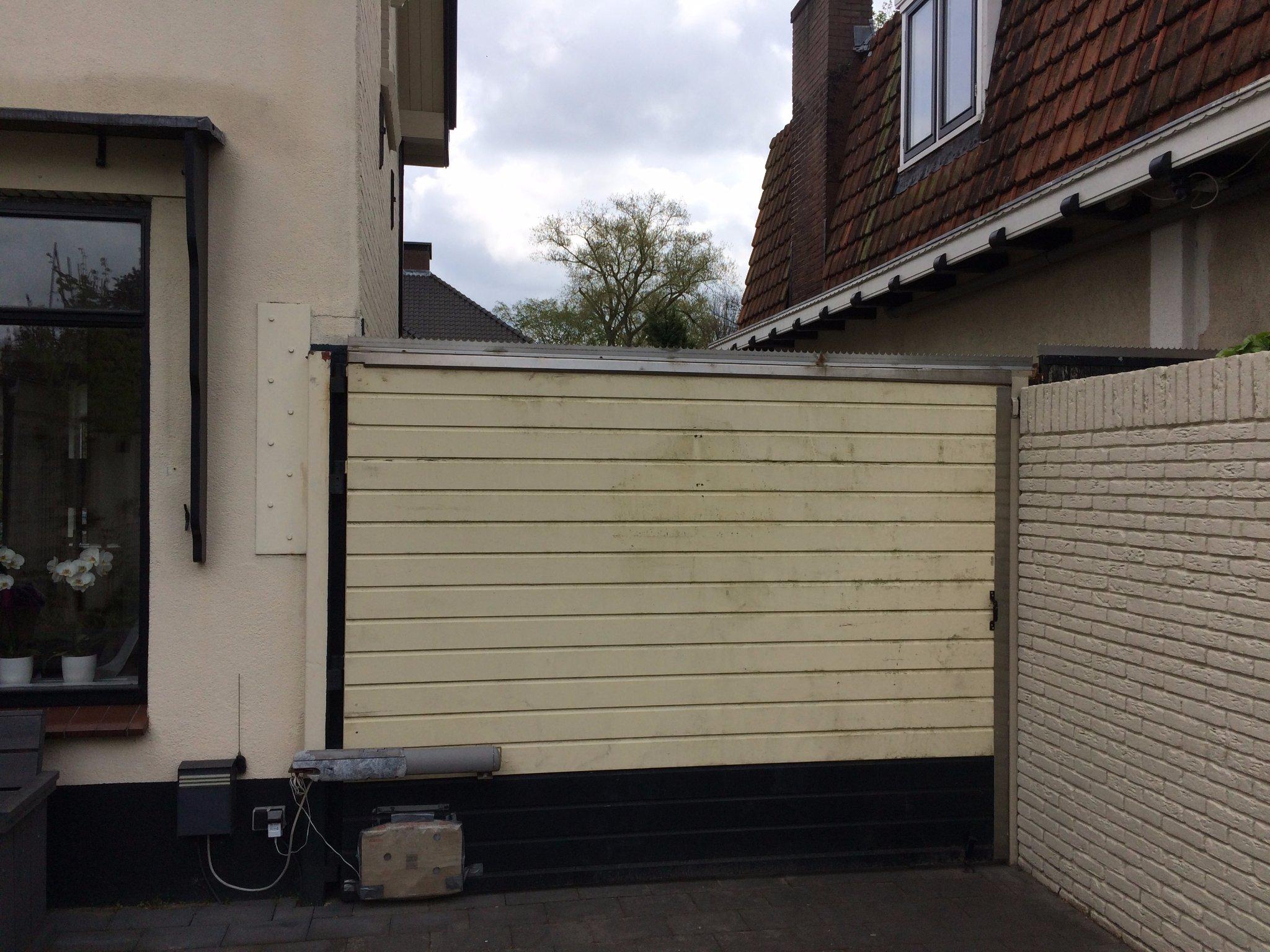 Bekend Meranti houten poort maken met kraaldelen dubbele deur 282x 220cm @TQ55