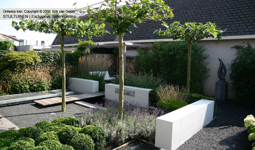 Stuken van 1 muurtje 2 bloembakken werkspot for Tuinontwerp 50m2
