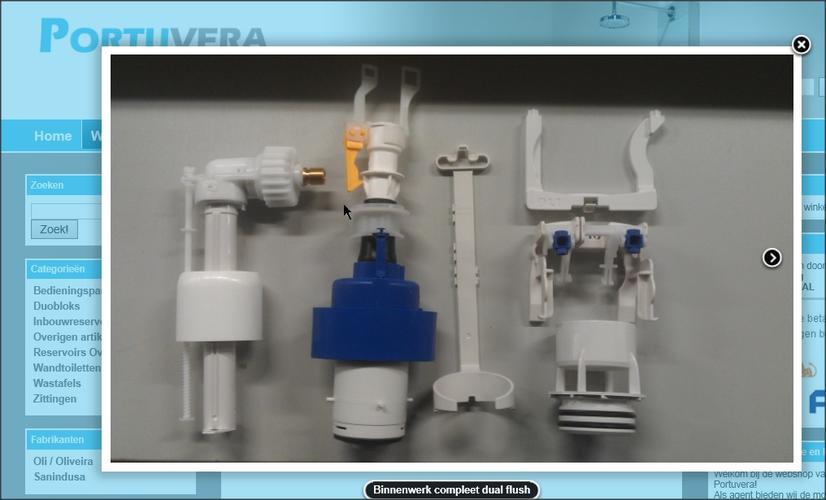 Inbouw Toilet Compleet : Vervangen vlotter en spoelmechanisme van inbouwtoilet hangend