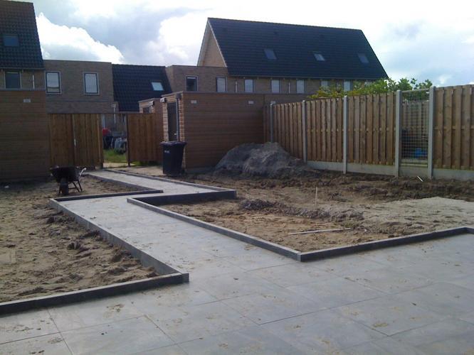 nieuwbouw tuin aanleggen werkspot