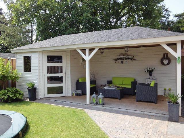 Garage Met Veranda : Garage verbouwen tot veranda tuinhuis werkspot