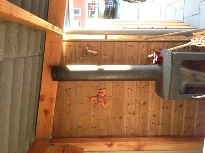 Zeer Doorvoer schoorsteen van houtkachel door dak afdak. - Werkspot &QM24