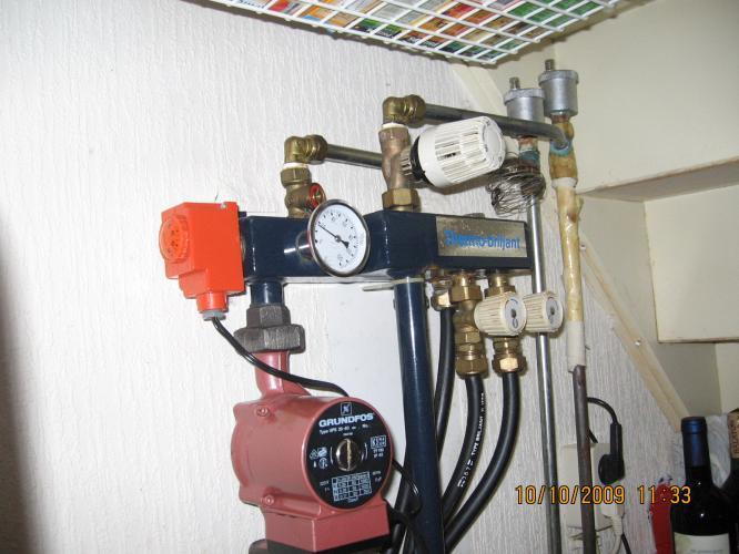 vervangen circulatiepomp voor vloerverwarming en cv