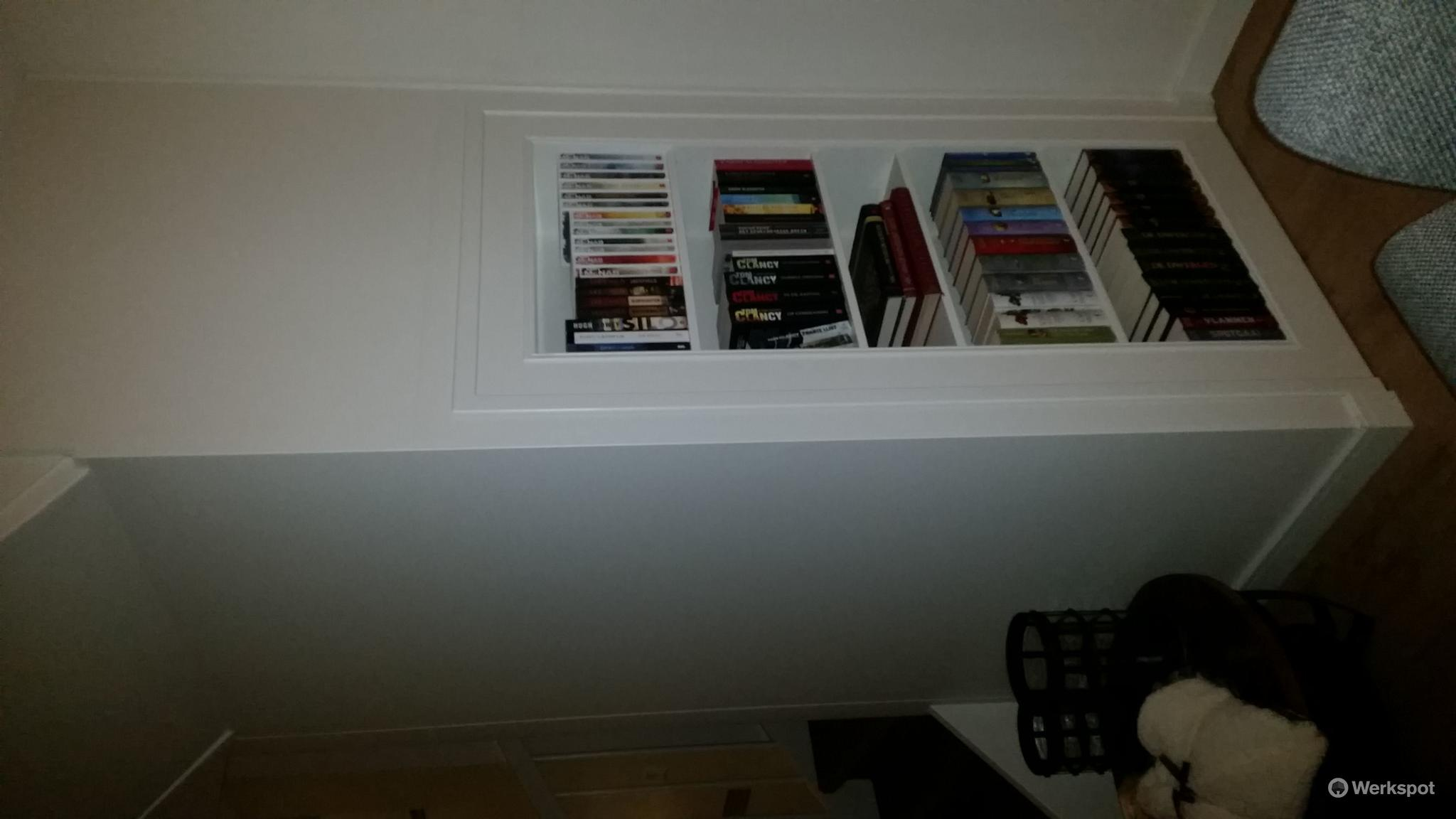 Bouwen trapkast/boekenkast - Werkspot