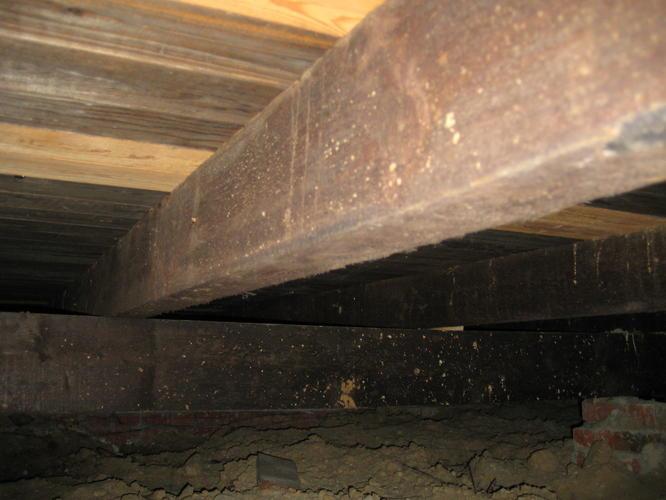 houten vloer vervangen beton en vloerverwarming   Werk