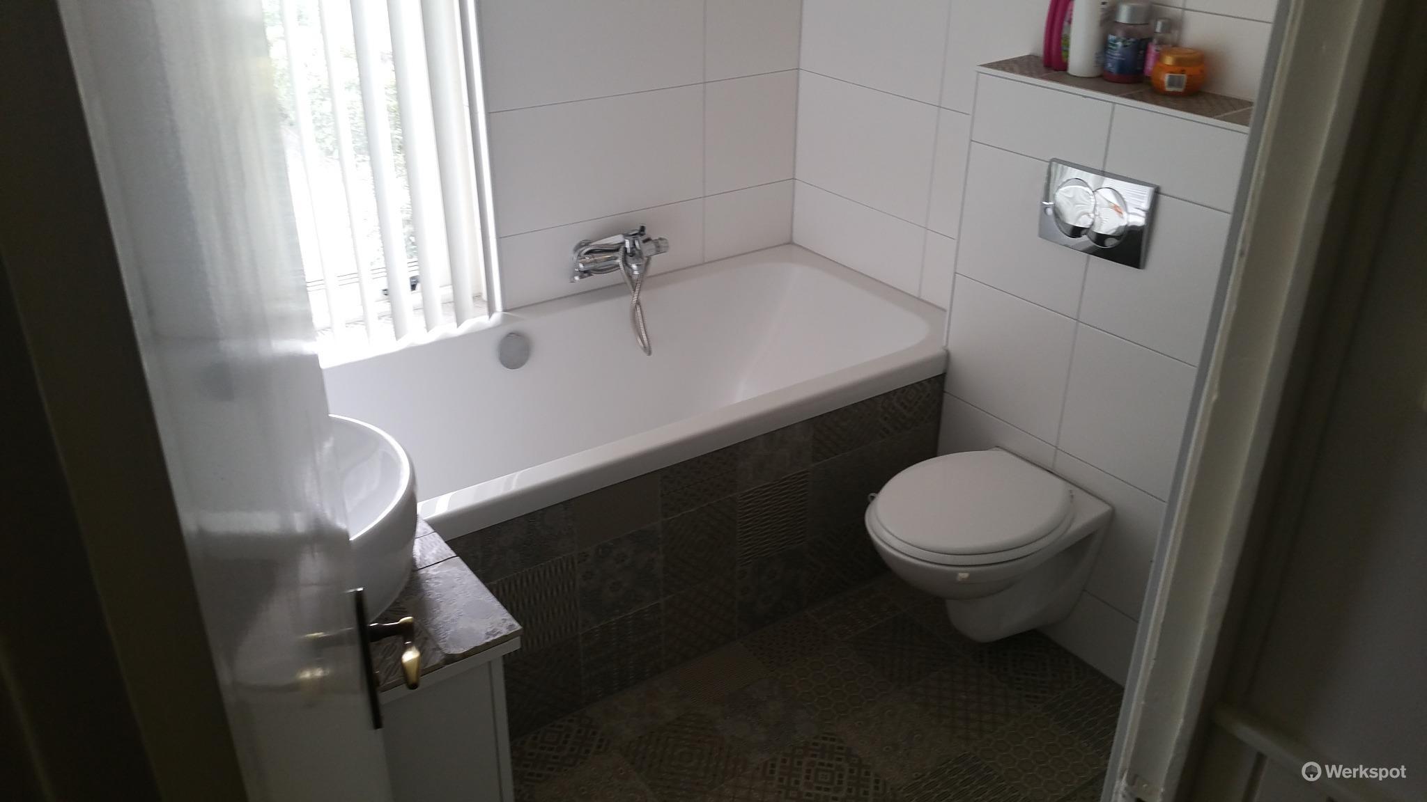 Plaatsen badkamer 6m2 - Werkspot