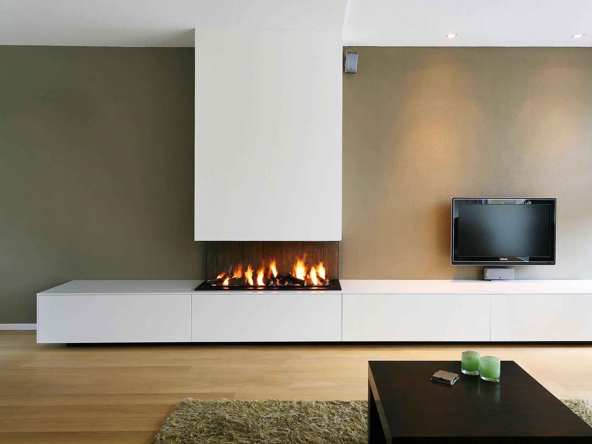 Tv meubel maken met elektrische haard ombouw werkspot for Dec design interieur