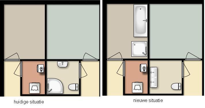 Badkamer verplaatsen naar slaapkamer - Werkspot