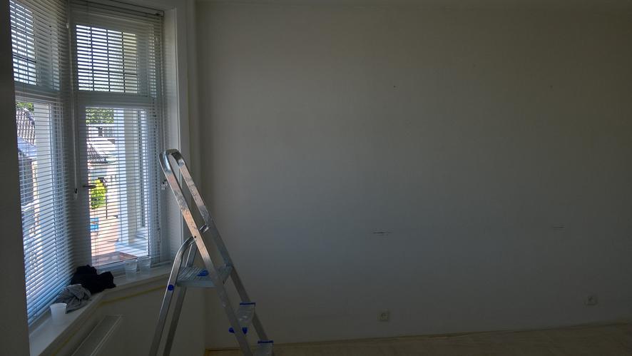 Geluidsisolatie tussenmuur slaapkamer met schouw in hoek - Werkspot